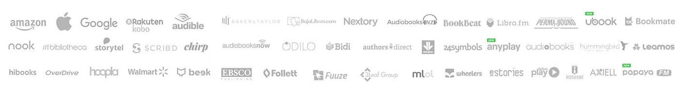 Audiobooks Partner Logos