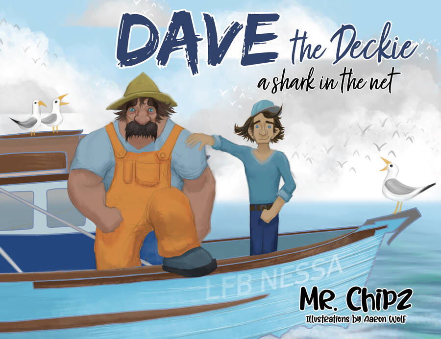 Dave the Deckie A Shark in the Net