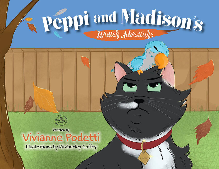 Peppi and Madisonand39s Winter Adventure