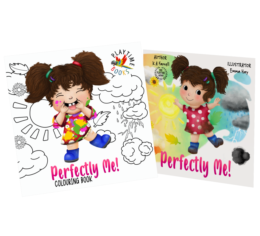 Perfectly Me Book andamp Colouring Book Bundle