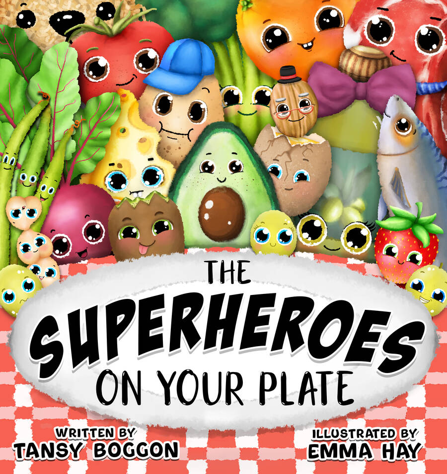The Superheroes on Your Plate